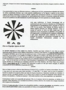 Significado logo EAS 1